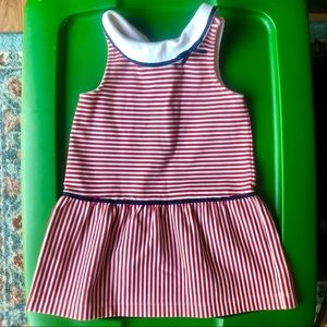 Janie and Jack 24 month striped dress